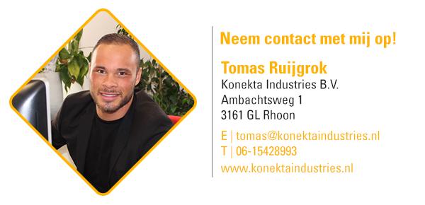 Voor vragen neem contact op met Tomas